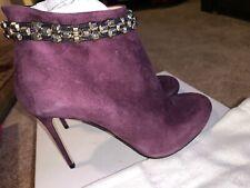 VIKTOR & ROLF Trunk 501 Shoes Size 8.5, Color Eggplant