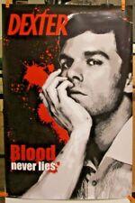 DEXTER ~ BLOOD NEVER LIES 24x36 TV POSTER Showtime