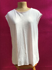 Ted Baker Women's Pink Lace T-shirt Size Ted Baker 4 (AUS) 14.