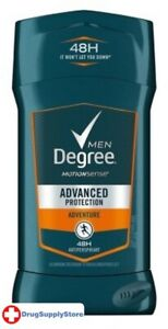 BL Degree Deodorant 2.7 oz Mens Adventure - Two PACK