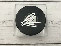 Sonny Milano Signed Autographed Columbus Blue Jackets Hockey Puck a