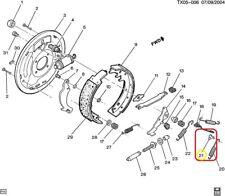 Pivot, Rear Brake Shoe Adjuster Actuator GENUINE GM 3856856