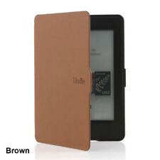 Smart Magnetic Wake /Sleep Amazon Kindle Paperwhite 1/2/3 Case PU Leather Cover