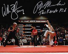 Ralph Macchino & William Zabka Karate Kid Autographed 8x10 Signed Photo Reprint