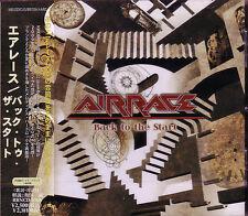 AIRRACE Back To The Start + 2 JAPAN CD More Mama's Boys Jason Bonham NWOBHM
