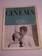 MAGAZINE CINEMA , CAHIERS DU CINEMA N° 212 DE 1969 . LUIS BRUNEL , BON ETAT .