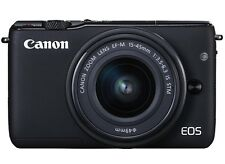 Canon EOS M10 mit 15-45 mm IS STM Objektiv Neuware Fachhändler EOS M 10 schwarz