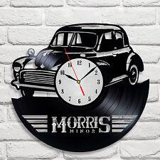 Morris Morris design vinyl record clock home decor garage hobby playroom hobby
