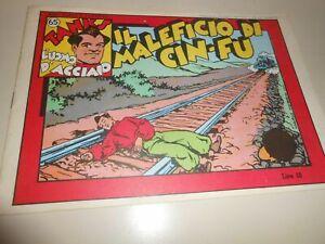 FUMETTO TANKS N.65 -L'UOMO D'ACCIAIO -IL MALEFICIO DI CIN-FU - 28-3-47
