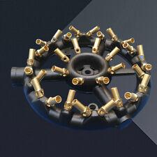 New listing Jet Burner Round Shape Natural Gas Chinese Wok Range 32 Heads Cast Iron Usa