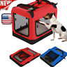 Portable Pet Carrier Soft Sided Large Cat Dog Comfort Bag Travel Approved Home
