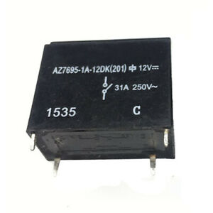 10PCS AZ7695-1A-12DK Relay 4-pin 12vDC Current 31A 891WP G4A