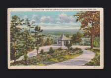 1c Stamp 1936 postmark Southern view from Mountian Hot Springs Np Ar Ark