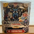 Transformers Supreme Class Cybertron Primus Action Figure&Unicron Head NEW Wear+