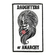 Ecusson DAUGHTERS OF ANARCHY Patch Aufnäher Parche Toppa biker rider girls sons