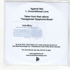 (FN872) Against Me!, Unconditional Love - 2013 DJ CD