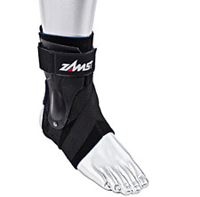 Zamst A2-DX Ankle Brace Ankle Support,  Black, Size L  Right,  New