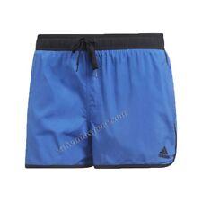 Adidas Uomo da Nuoto acqua Shorts Blu Spiaggia Piscina Asciugatura Veloce tasche M