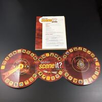 Harry Potter Scene It? Replacement Parts Game Board And 4 Page Instruction Sheet