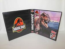 Custom Made Jurassic Park Trading Card Binder Graphics Only