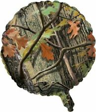 """Hunting Camo Foil Balloon 18"""" Birthday Party Woods Bachelor Nature"""