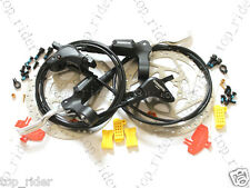 Shimano Deore BR-M535 Hydraulic Disc Brake/Lever Front/Rear/160mm Rotor Set