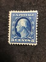 us stamps scott 504 MH OG Centered Vibrant May Be Thin