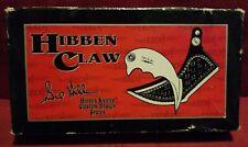 Rare Gil Hibben Claw Knife With Sheath And Original Box