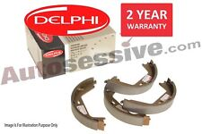 VOLVO S60 S80 REAR HAND DELPHI BRAKE SHOES & FITTING KIT 1998-