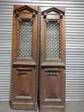 ENTRANCE DOORS, Vintage French Oak Entry Doors, 6d