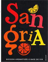 Etiquette de vin - SANGRIA