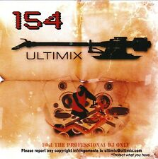 Ultimix 154 CD Ultimix Records Ke$ha,Lady Gaga,Muse,One Republic,Madonna