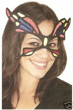 Colorful Fabric BUTTERFLY MASQUERADE PARTY EYE MASK fairy costume halloween