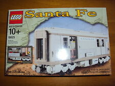 LEGO TRAIN SET 10025 Santa Fe Cars - Set I  - NEW IN FACTORY SEALED BOX -