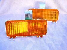 NEW LOW PRICE - 1981 1982 Chevrolet GMC Pick Up In Bumper Amber Turn Signals