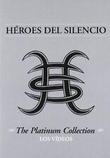 HEROES DEL SILENCIO: THE PLATINUM COLLECTION - LOS VIDEOS NEW REGION 2 DVD