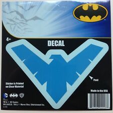 """DC Nightwing Logo Emblem Blue Car Window Sticker Decal 5""""  Robin Batman Boy"""