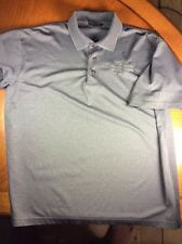 Iron Workers Local 1 Golf Polo by AKWA Classic  ~ BABE on the Sleeve ~ XL ~ Gray