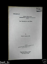 Roberto Assagioli The training of the will (P.R.F) # 17, 1966 Psychosynthesis Re
