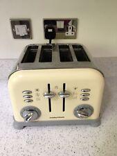 Morphy Richards 240107 4 Slice Toaster - Cream