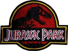 Jurassic Park Replica Logo Embroidered Patch Suit Tyrannosaurus Rex 2 3 4 Jeep