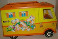 Vintage Mattel Barbie Country Camper with Two Stools