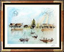 Salvador Dali Etching Authentic Original Hand Signed Surreal Artwork Beaux Arts