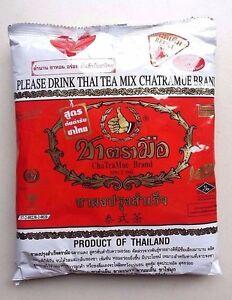 Mix Black Tea Thai CHATRAMUE Number One Brand 190 g Worldwide Shipping