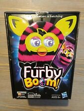 Furby Boom Pink with black Stripes  Talking Toy Hasbro 2012 new and sealed