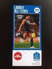 2015 Ladder AFL All Star Card Matthew Pavlich Fremantle Dockers