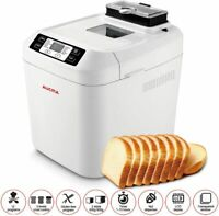 Aucma Machine Automatic Of Pan Of Menu Without Gluten 12 Functions 550 W, White