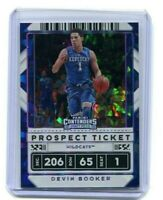 2020-21 Contenders Draft Picks DEVIN BOOKER #20 PROSPECT Ticket Cracked Ice /23