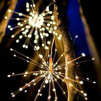 Firework LED Fairy Lights String Copper Wire Remote Control Christmas Decor