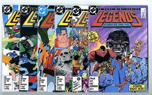 Legends (1986 DC) #1-6 (No. 3 1st Suicide Squad) Set Avg NM- to NM DC Comics